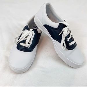 Keds school day uniform leather sneakers